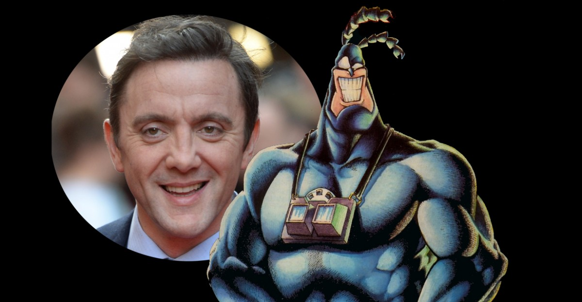 Peter Serafinowicz is The Tick In The New Amazon Studios Series