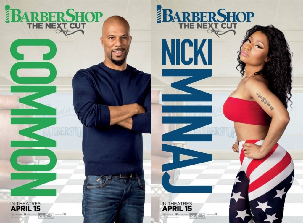 Barbershop: The Next Cut character Posters
