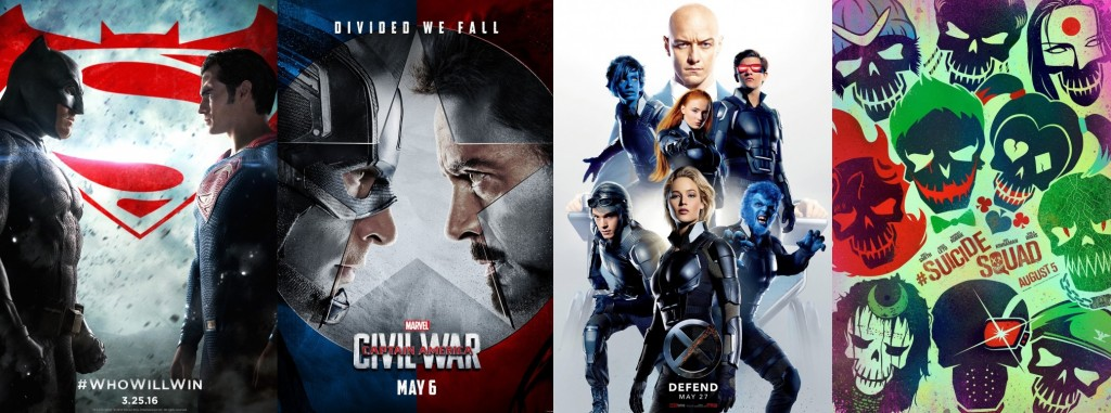 4 Awesome Superhero Trailers You Can't Miss