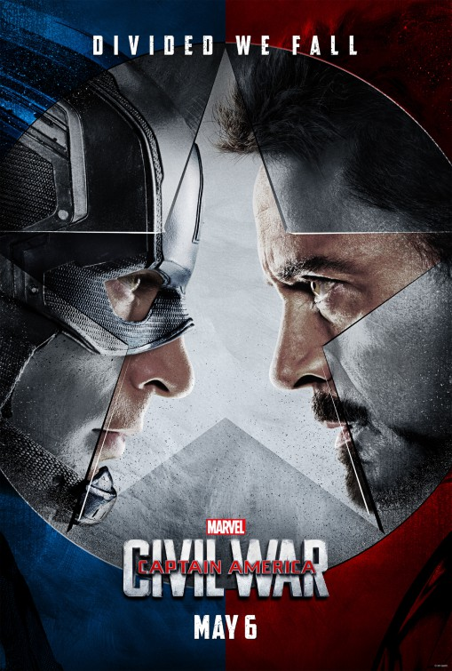 Captain America Civil War Divided We Fall Posters
