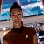 Zoe Saldana Talks Short Skirts For Star Trek and Green Skin For Gamora