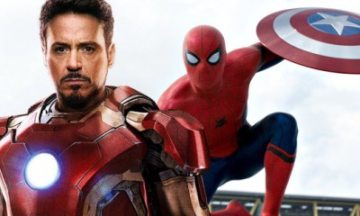 Iron Man Joins Spider-Man: Homecoming