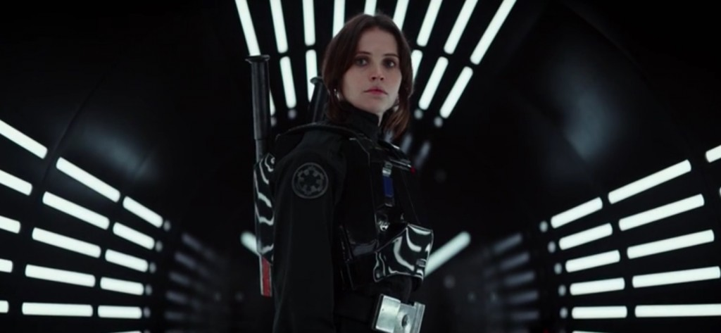 First Look At Rogue One: A Star Wars Story Trailer today