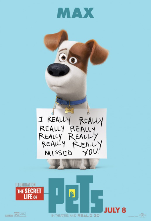 If you're an animal lover then of course you will love these 9 Utterly Adorable Secret Life of Pets Character Posters