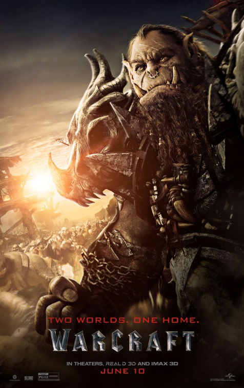 Universal has unveiled a series of character posters so get your inner nerd on with new Warcraft Poster
