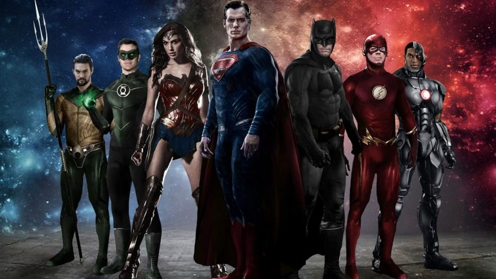 DC Comics Movie Lineup