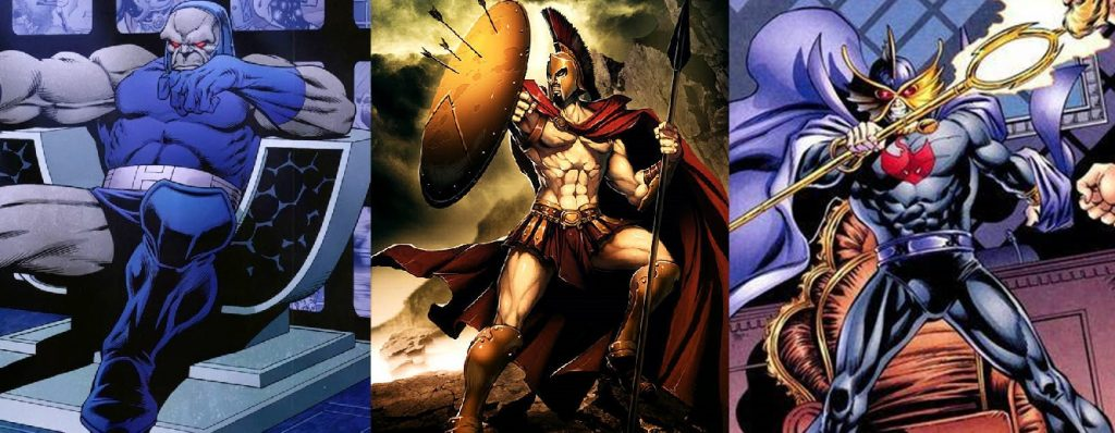 Justice League Villains Reveal Ares, Ocean Master + Darkseid