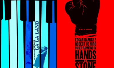 TRAILERS: Hands of Stone - La La Land - Jack Reacher: Never Go Back, Snowden