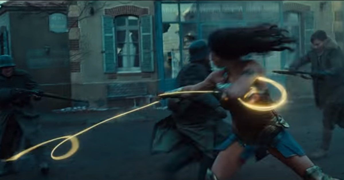 First Look: Wonder Woman Trailer