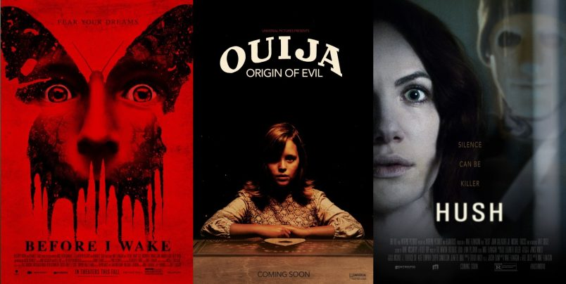 Movie TRAILERS: Before I Wake - Incarnate - Hush - Ouija: Origin of Evil