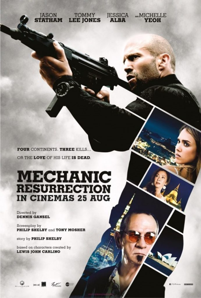 TRAILERS: Kicks - Mechanic: Resurrection - Loving