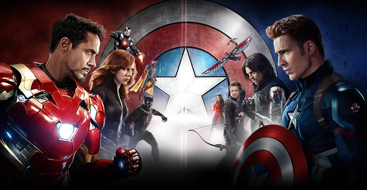 Captain America: Civil War Coming to DIGITAL HD/3D & BLU-RAY