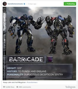 Transformers The Last Knight: Megatron, Bumblebee + Autobots Get Makeovers