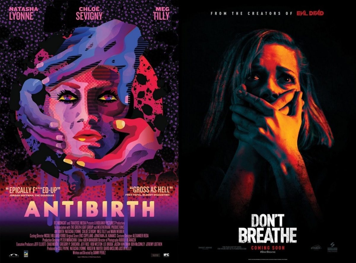 TRAILER BITES: Split, Antibirth + Don't Breathe