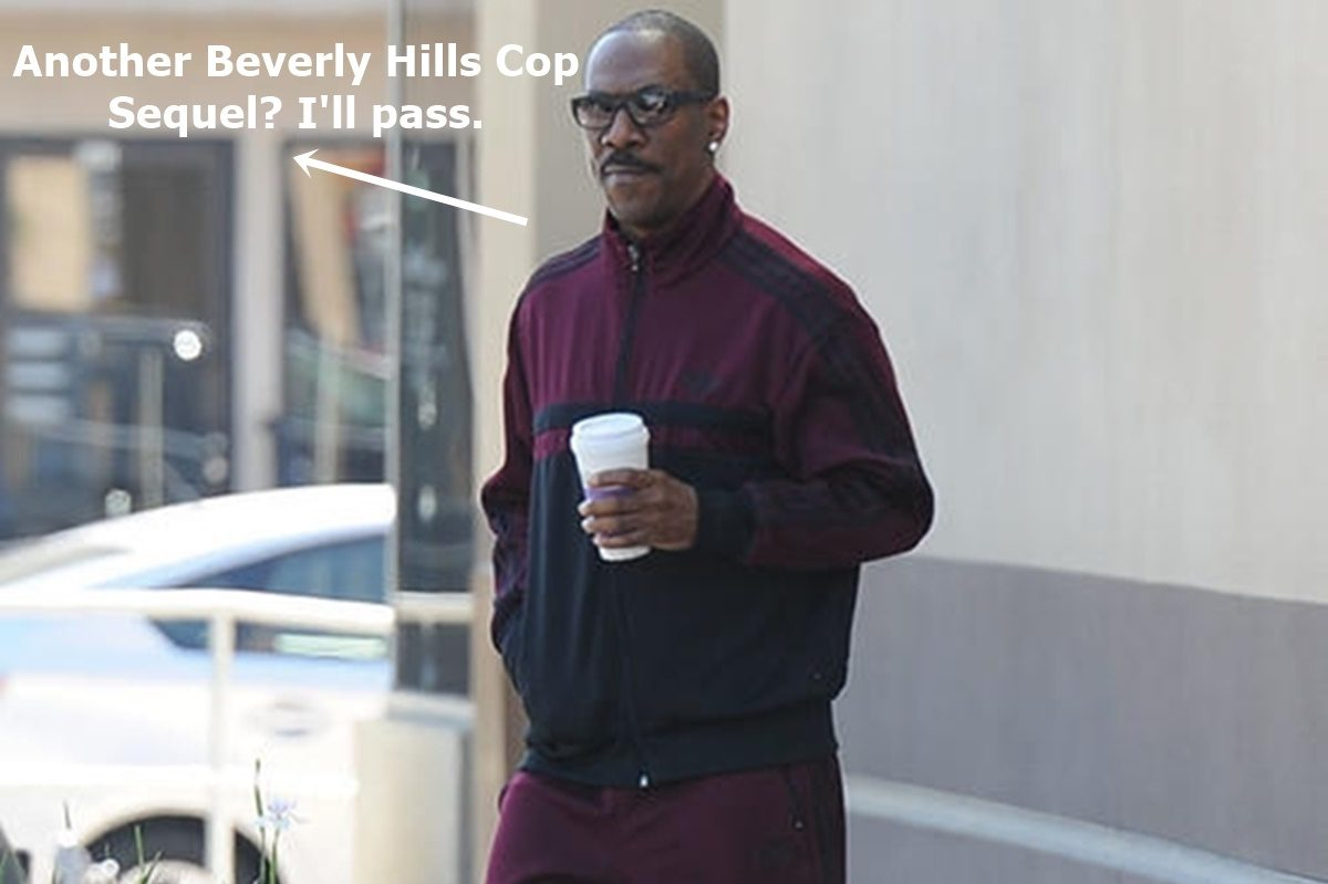 Eddie Murphy Puts Brakes on Beverly Hills Cop Sequel
