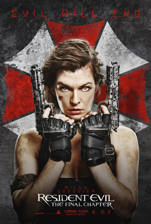 Resident Evil The Final Chapter First Look Posters
