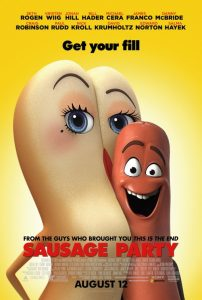 Sausage Party Sexual Innuendo Character Posters