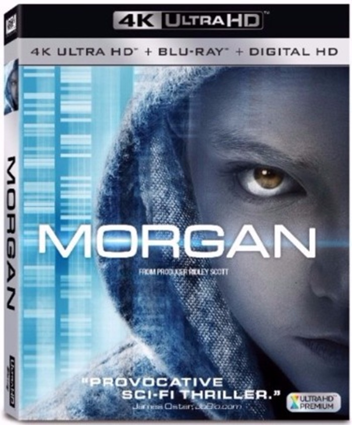 Ridley Scott's Morgan Arrives on DVD This December