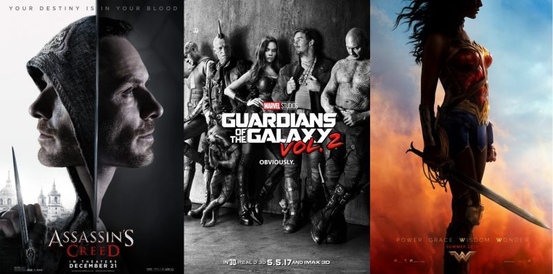 TRAILERS: Guardians of the Galaxy Vol. 2, Wonder Woman + Assassin's CreedTRAILERS: Guardians of the Galaxy Vol. 2, Wonder Woman + Assassin's Creed