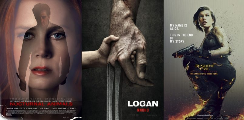 TRAILERS: Logan, Nocturnal Animals + Resident Evil: The Final Chapter