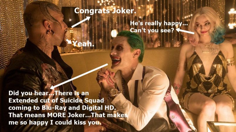 Suicide Squad Extended Edition is Coming to Blu-Ray + Digital