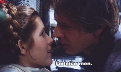 "Carrie Fisher Confirms ""Intense"" Affair with Harrison Ford"