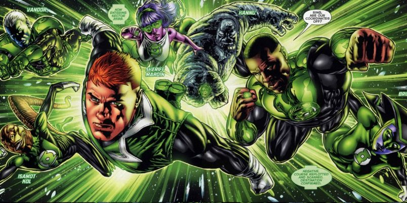 Justice League Will Feature Green Lantern