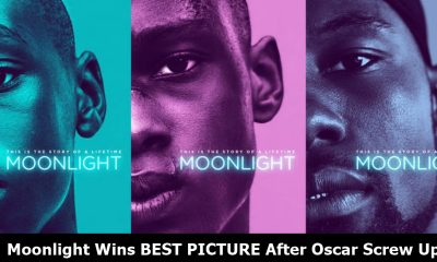 Moonlight Wins During Oscars Screw-Up; Emma Stone Reveals Truth at Oscars