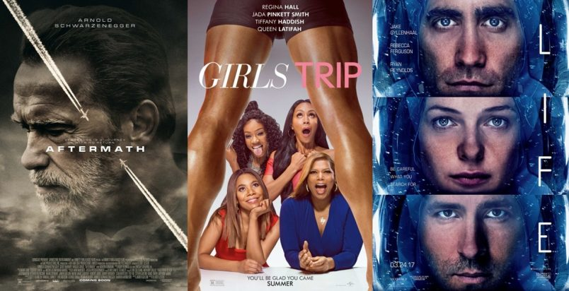 TRAILERS: LIFE, Girls Trip, Aftermath, The Belko Experiment