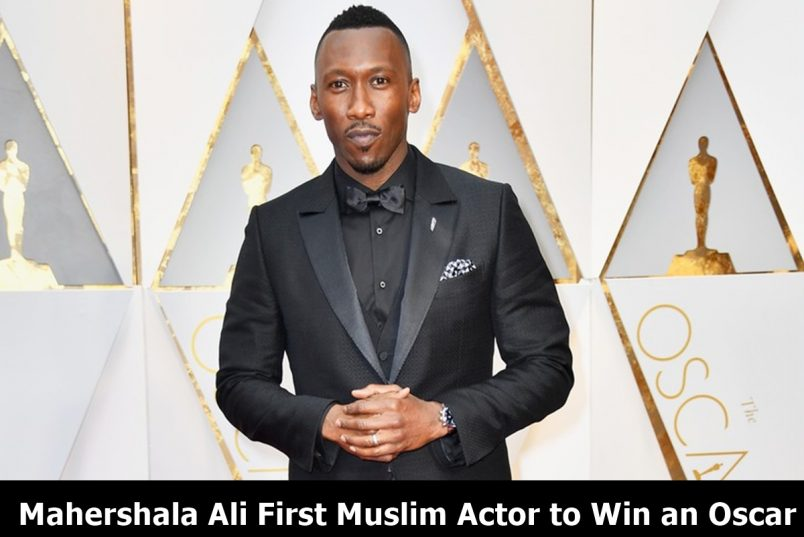Mahershala Ali First Muslim Actor to Win an Oscar