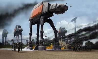 Star War 8 Revamps AT-AT Walkers with Gorilla-Shape