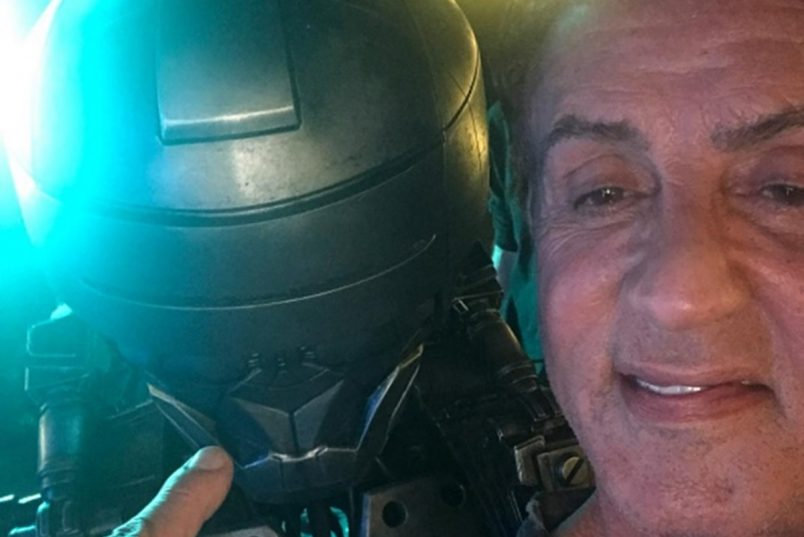 Sylvester Stallone Hints Robot Brawl in Escape Plan 2 + Pt 3 on The Way