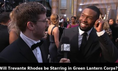 Trevante Rhodes In Talks To Play Green Lantern Corps
