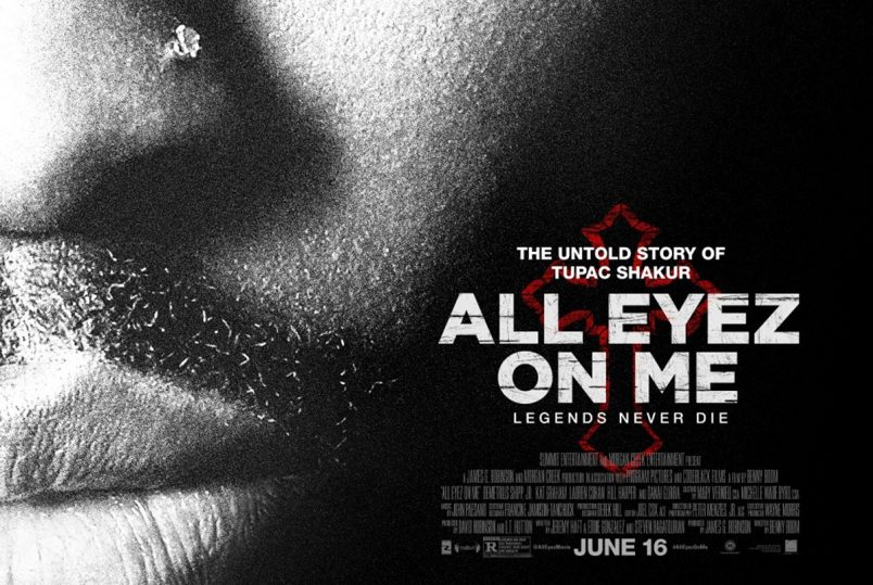 Tupac Biopic: All Eyez On Me Gets Official Poster and Trailer