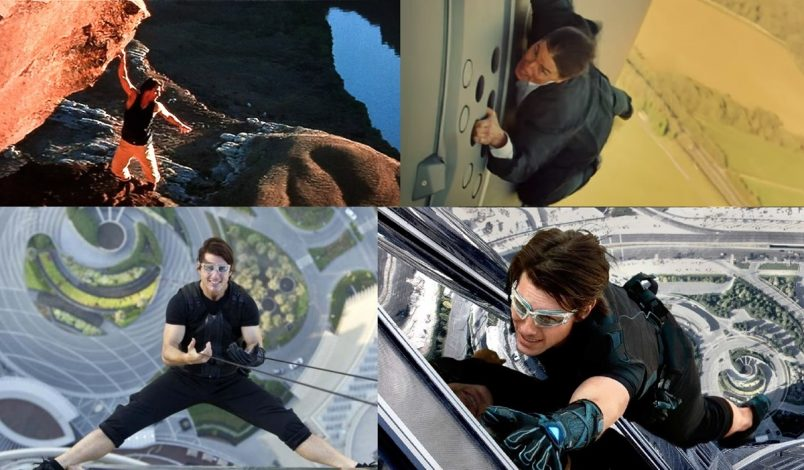 "Tom Cruise ""Training for a Year"" for A New ""Mind-Blowing''MI6 Stunt"
