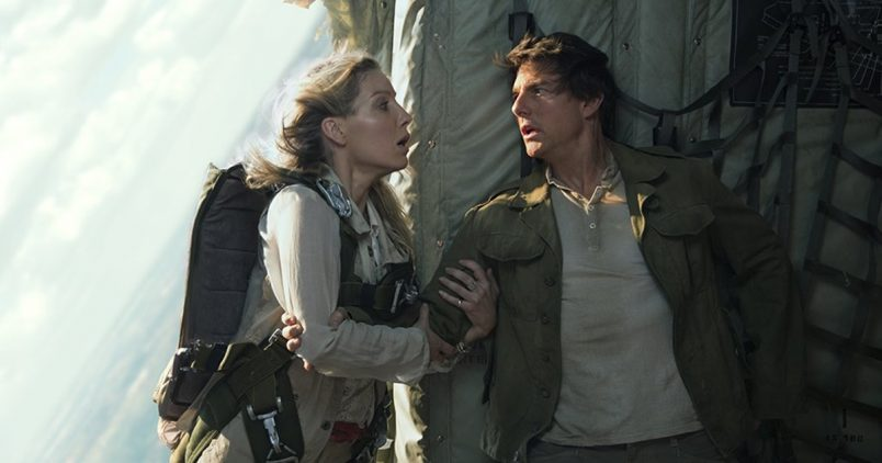 Tom Cruise Does Actual Zero Gravity Stunt In The Mummy
