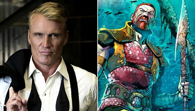 Dolph Lundgren Joins Aquaman as King Nereus