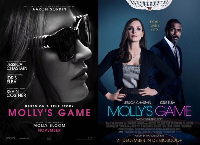 Molly's Game Movie Passes Giveaway in Los Angeles & New York