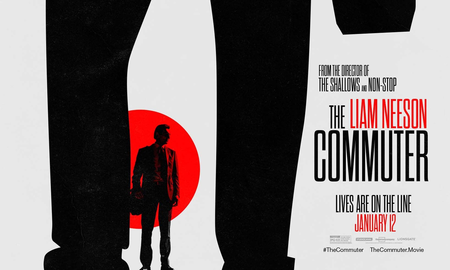 THE COMMUTER MOVIE GIVEAWAY Jan. 10th: ATL, CHI, DC, LA, NYC