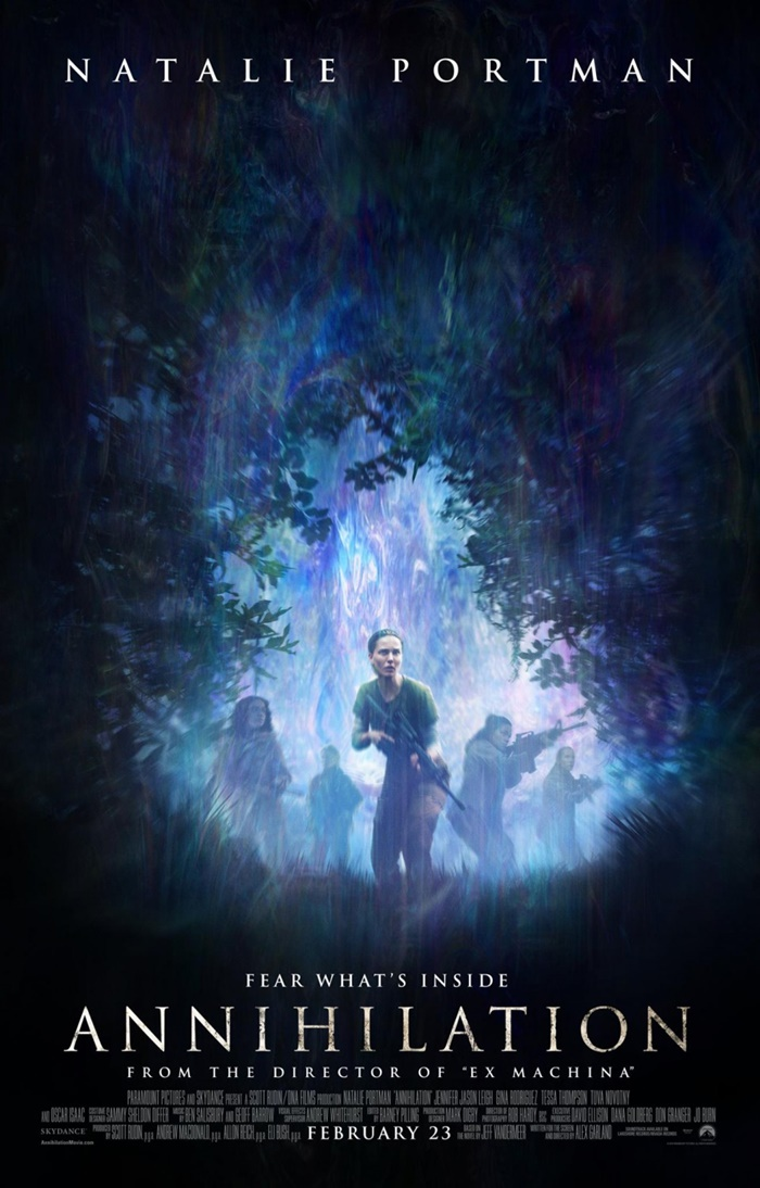 ANNIHILATION MOVIE SCREENING GIVEAWAY ATL, NYC, LA