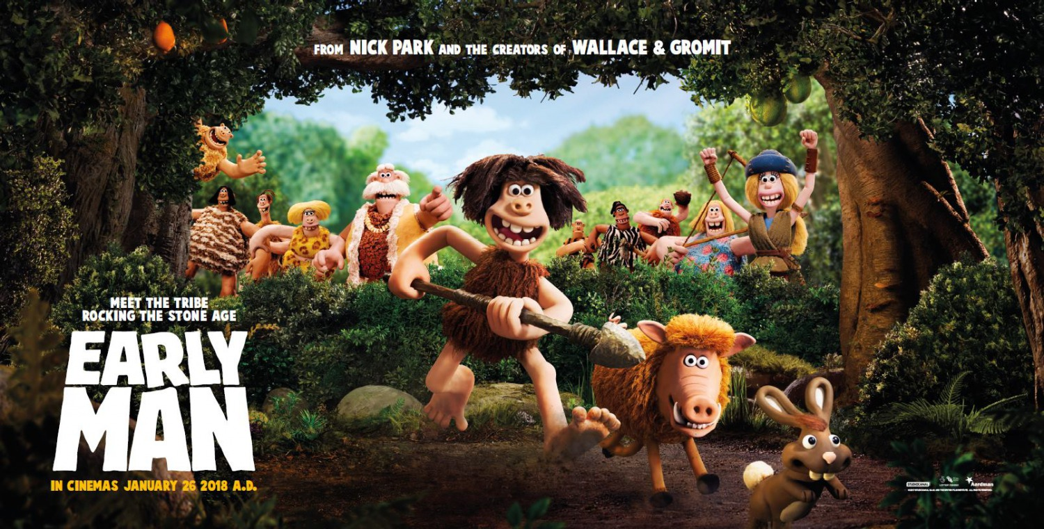 EARLY MAN MOVIE SCREENING GIVEAWAY ATL, CHI, DC, NYC, LA