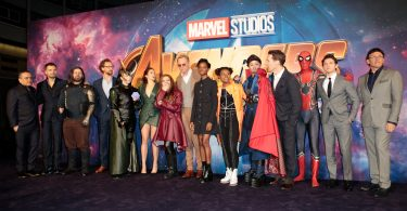 Avengers Infinity War Shine Bright at London Premiere