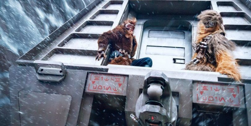 Han Meets Chewy In Brand New Look at Solo: A Star Wars Story