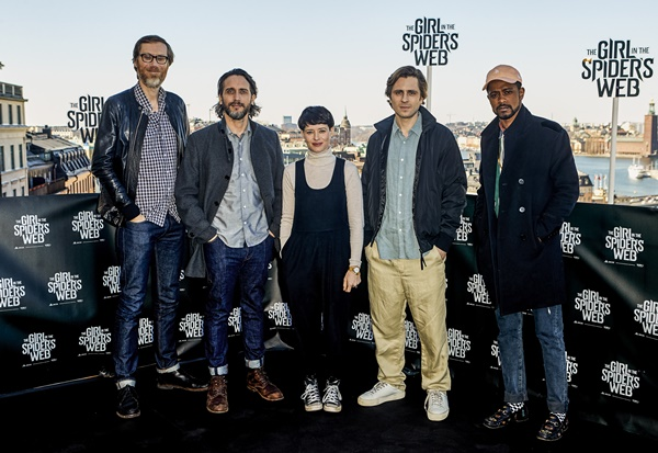 The Girl in the Spider's Web Stockholm Photo Call