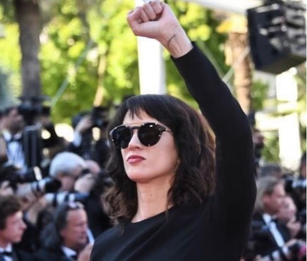 Asia Argento Speech Calls Cannes Weinstein's 'Hunting Ground'