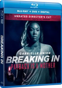 BREAKING IN Unrated Director's Cut Coming to Digital & BluRay