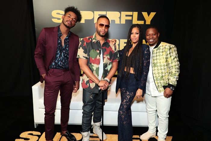 The Superfly Cast Cast Talks Music, Fashion and Culture
