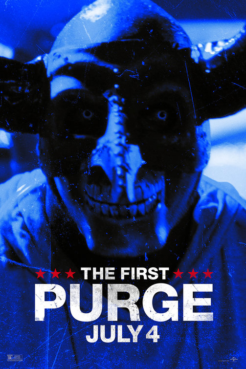 The First Purge Political Uprising Posters Red, White + Blue