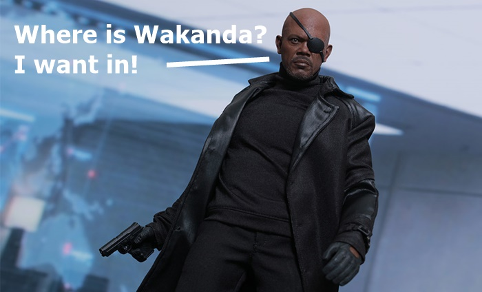Samuel L Jackson Wants In on Wakanda