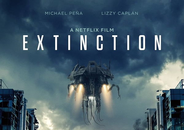 Micheal Pena Fighting an Alien Invasion in Netflix Extinction